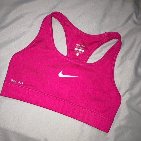 Nike Other - Pink NIKE Dri Fit Sports Bra